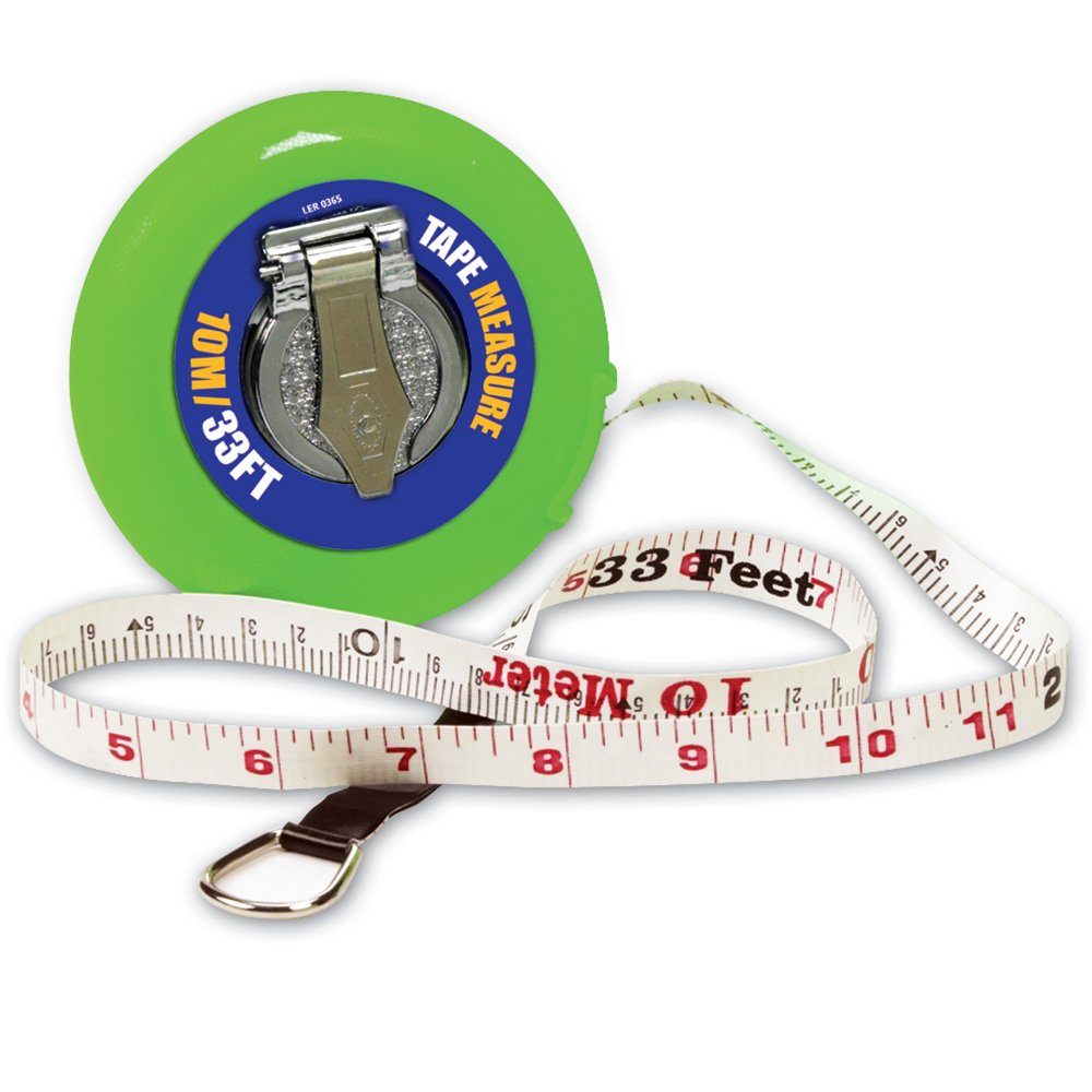 Learning Resources LER0365 Wind-Up Tape;10M/33-Feet EDRE21064