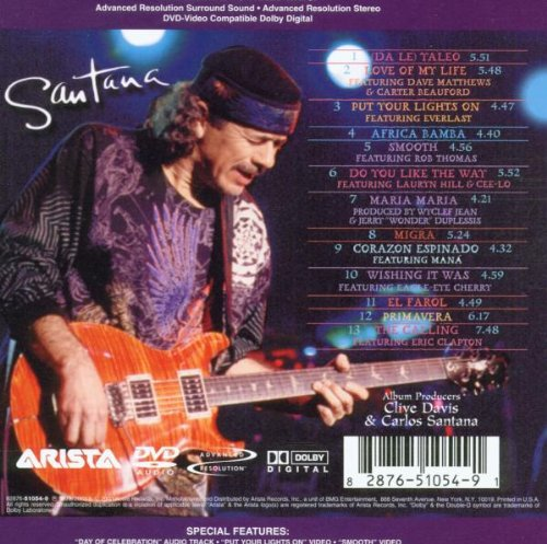 santana supernatural amazon com music
