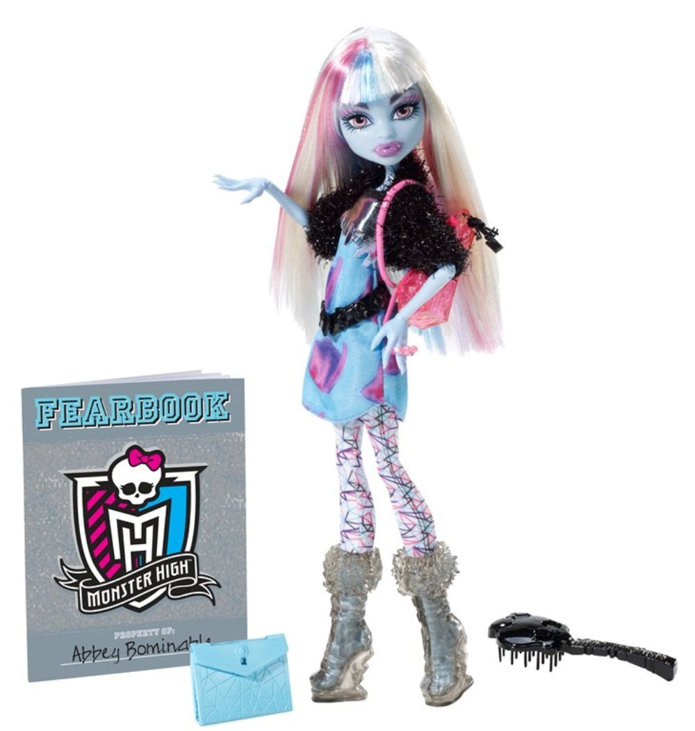 amazoncom monster high picture day abbey bominable doll toys games