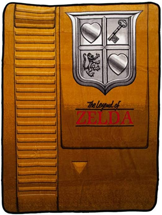 Zelda Cartridge Throw/Blanket