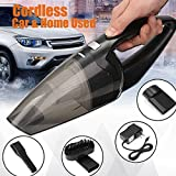 HOT SALE (Car&Home Used)Cordless Handheld 90W Wet Dry Rechargeable Home Sofa Car Auto Vehicle Vacuum Cleaner Portable Dust Collector Aspirator