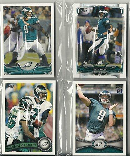 Philadelphia Eagles Football Card - 2011, 2012, 2013, 2014, 2015 Topps Football Philadelphia Eagles Team Set Lot 5 Set 65 Card Lot