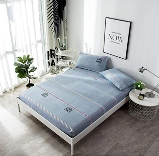 CHLCH Funda de colchón, Impermeable, Transpirable,Rejilla de ...