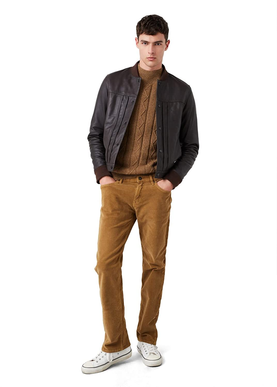 MANGO MAN - Slim-fit 5 pocket corduroy Casual trousers