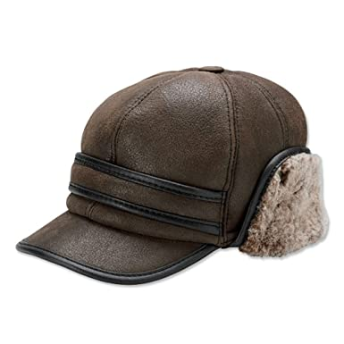 4f01d2ab732 Orvis Shearling Winter Ball Cap at Amazon Men s Clothing store