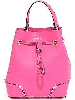 Furla Candy Dolcezza Cookie S Satchel, Womens Pink (Fuchsia D), 13x15x21 cm (B x H T) Furla