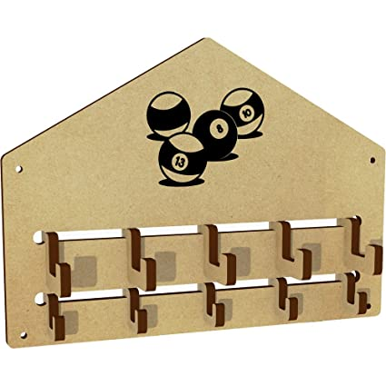 Bolas de billar montado en la pared perchero ganchos/rack (wh00025588): Amazon.es: Juguetes y juegos