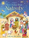 First Sticker Book Nativity (First Sticker Books)