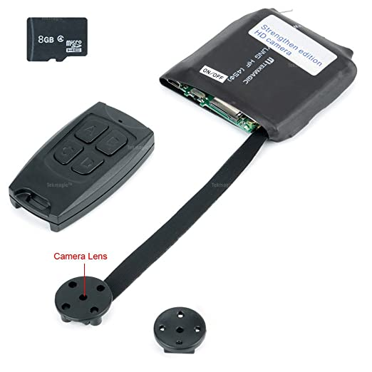 5 opinioni per TEKMAGIC 8GB Mini Portatile Telecamera Spia Fai Da Te Modulo Videocamere