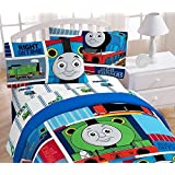 "HIT Thomas the Tank Engine ""Fun""  39"" x 75""  Twin Sheet Set"