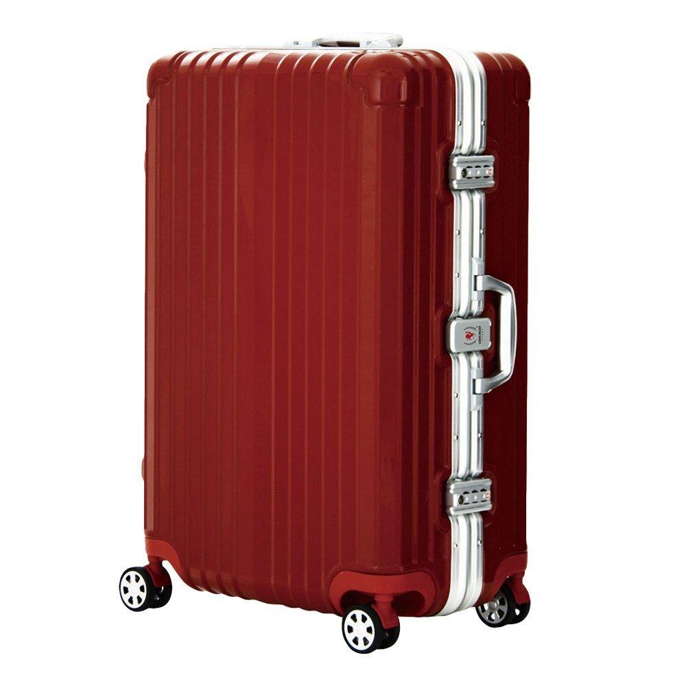 LEGEND WALKER PREMIUM GRAND BLADE ブレイド スーツケース ハードケース キャリーケース 遺失物発見サービス OKOBAN 4輪 TSAロック 71L 5601-64 (レッド)   B01GPWODFE
