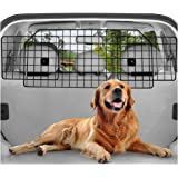 rabbitgoo Dog Car Barrier for SUVs, Van, Vehicles - Adjustable Large Pet SUV Barriers Universal-Fit, Heavy-Duty Wire Mesh Dog Car Guard, SUV Pet Car Gate for Vehicles, Safety Car Divider for Dogs