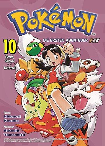 Pokémon - Die ersten Abenteuer: Bd. 10: Gold, Silber und Kristall