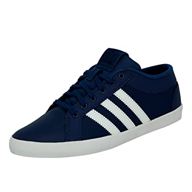Adidas originali adria ps le scarpe le scarpe blu leatherDonna w