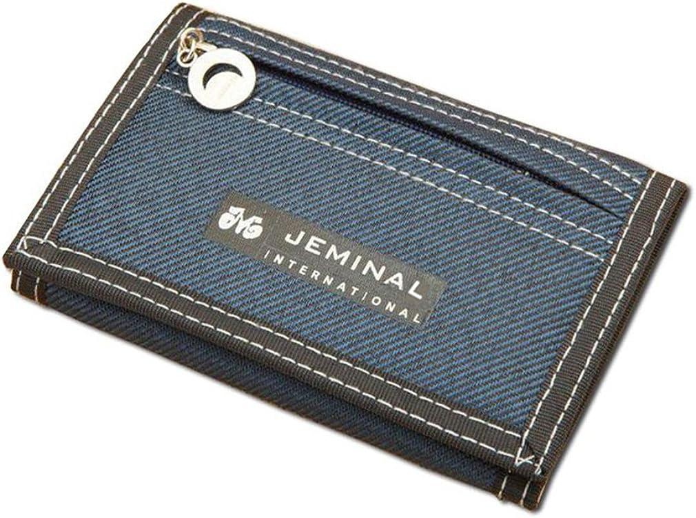 Boys Wallet Short Designer Men Wallets Zipper Coin Purse Card Holder for Teenager