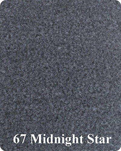 (16 Oz Cutpile Boat Carpet - 6' Wide / 12 Colors (Charcoal, 6x16))