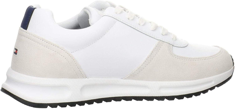 Tommy Hilfiger Herren Modern Corporate Leather Runner Sneaker