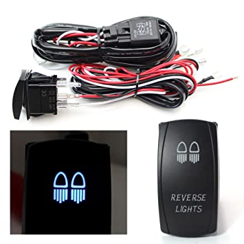 61NKcdFfHlL._SY355_ amazon com ijdmtoy 2 output universal relay wiring harness with