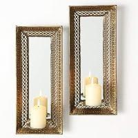 Home Collection - Candelabro de pared con espejo