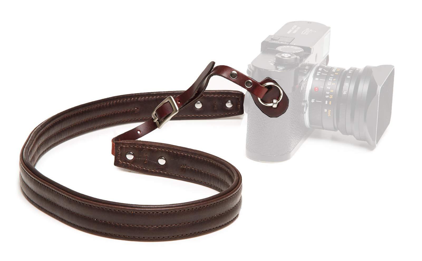 ONA - The Oslo Leather Camera Strap - Dark Truffle Leather