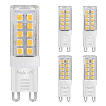 Lot Ampoules Équivalent Led 5 De Chaud G9 Blanc 40 Pour W 5j43RLqA