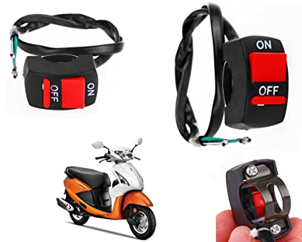 Auto Pearl - Premium Quality Bike Fog Lamp Switch, Fog Light Switch