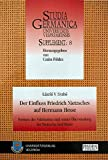 img - for Der Einfluss Friedrich Nietzsches auf Hermann Hesse book / textbook / text book