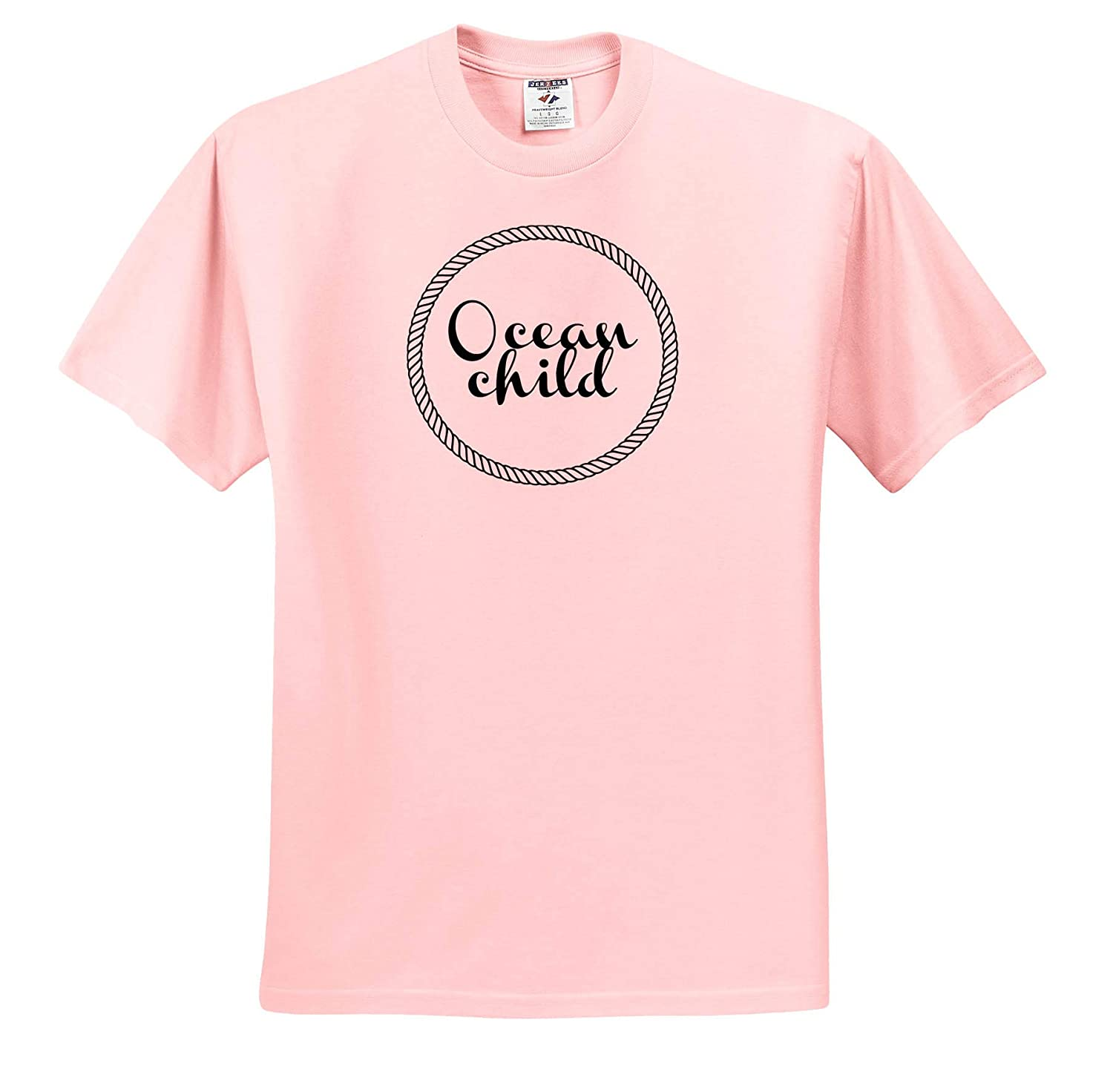 Image of Ocean Child Quote Quote T-Shirts 3dRose Gabriella B