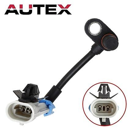 AUTEX ABS Wheel Speed Sensor Front Left/Right 96626078 ALS1748 compatible  with Chevrolet Equinox 2007-2009/Pontiac Torrent 2007-2009/Saturn Vue