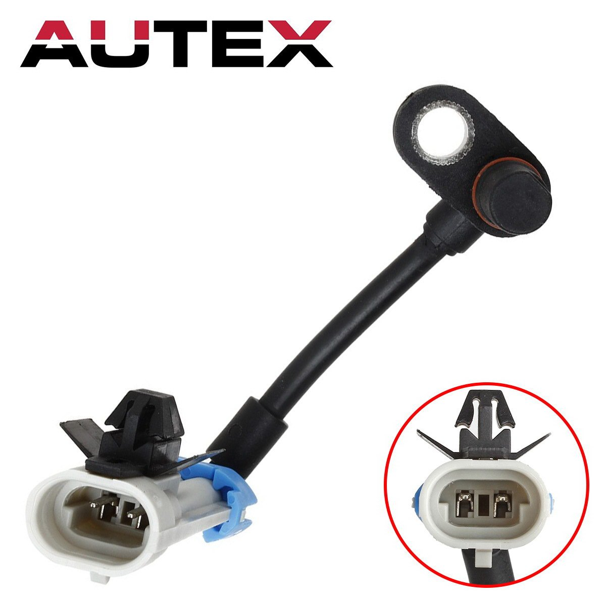 AUTEX ABS Wheel Speed Sensor Front Left/Right 96626078 ALS1748 compatible with 2007-2009 Chevrolet Equinox/2007-2009 Pontiac Torrent/2008-2010 Saturn Vue/2007-2009 Suzuki XL-7