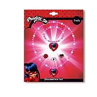 Disney - Ladybug Blister 5 Pièces Accessoires Bijoux, KE8389