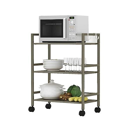 MyYztsj-kitchen rack Cocina Horno de microondas Rejilla ...