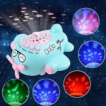 Kids Star Proyector de música luz bebé Sleeping Story máquinas ...