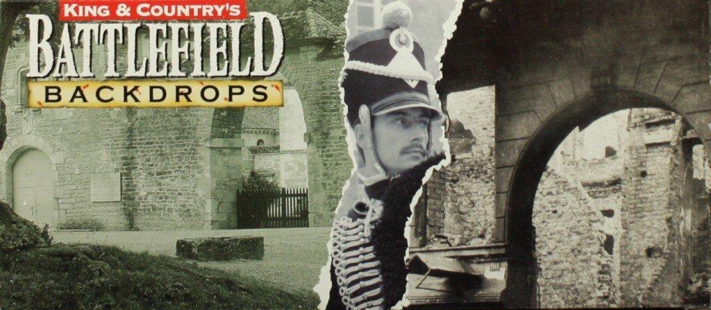 King & Country's Battlefield Backdrops Multi-Media Diorama Kit #SP029