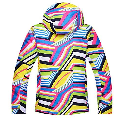 DYF Coat Windproof Zipper JACKETS Thickened Ski Jacket Warm 002A Men Women Waterproof FYM 5FqPw5