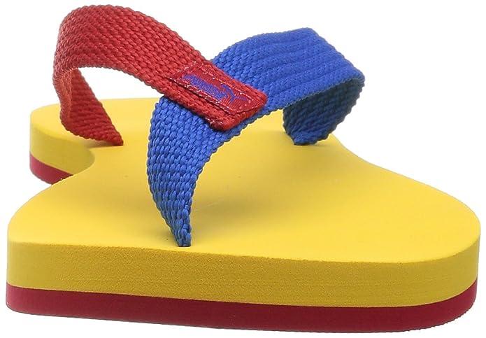 Puma II Dedo Brasil hombres chancletas de Amarillo 187 268 05, Size:47:  Amazon.es: Zapatos y complementos