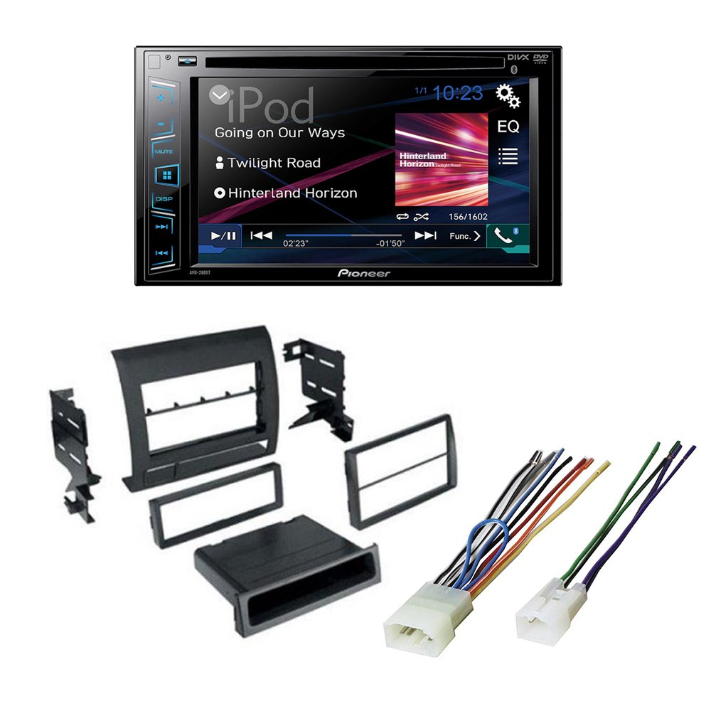 Toyota Tacoma 2005 -2011 Single Din Car Stereo Radio CD Player Dash Installation Kit Mount Trim + Harness by American International , Metra, Scosche