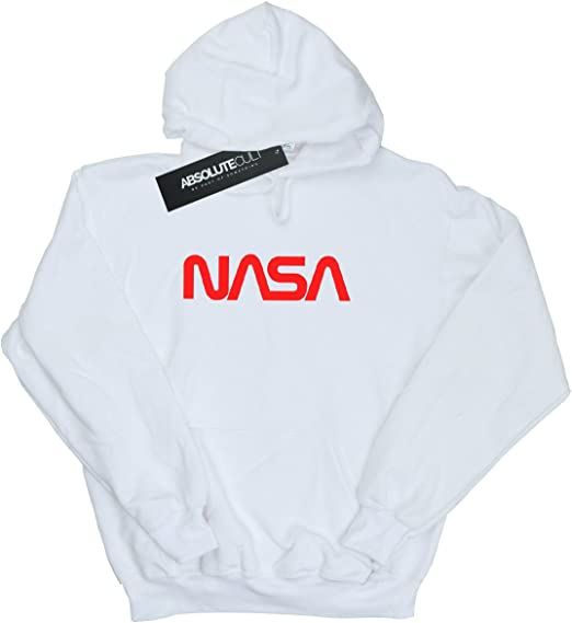 Absolute Cult NASA Garçon Modern Logo Sweat À Capuche