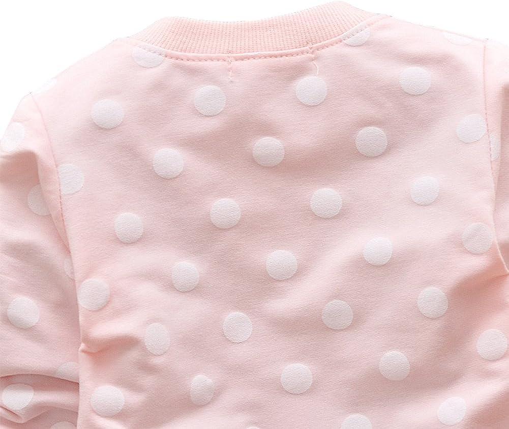 TAIYCYXGAN Baby Girls Princess Cardigan Clothes Flowers Cotton Outwear Coat