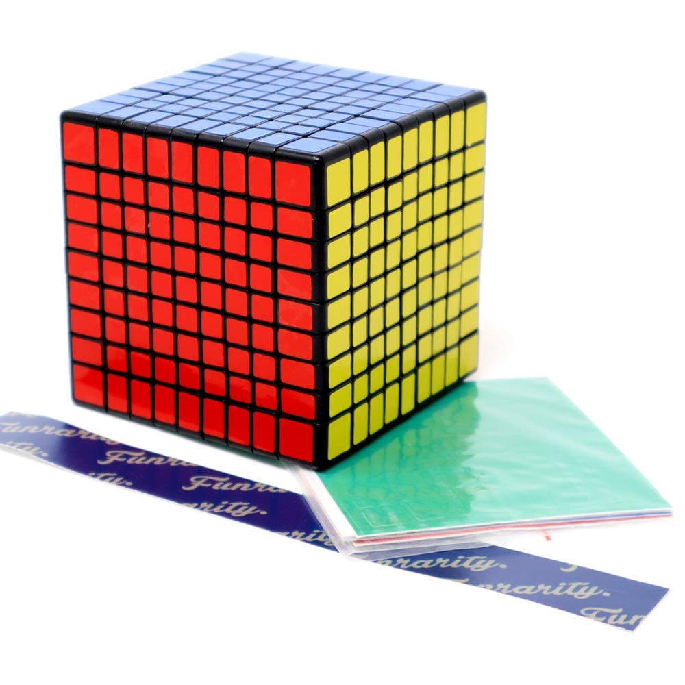 ふるさと納税 Funrarity Magic Cube Replacement Magic Puzzle 9x9x9 B07JLKGWV4 with Extra Replacement Stickers B07JLKGWV4, e-mono plus:faf82cf2 --- a0267596.xsph.ru