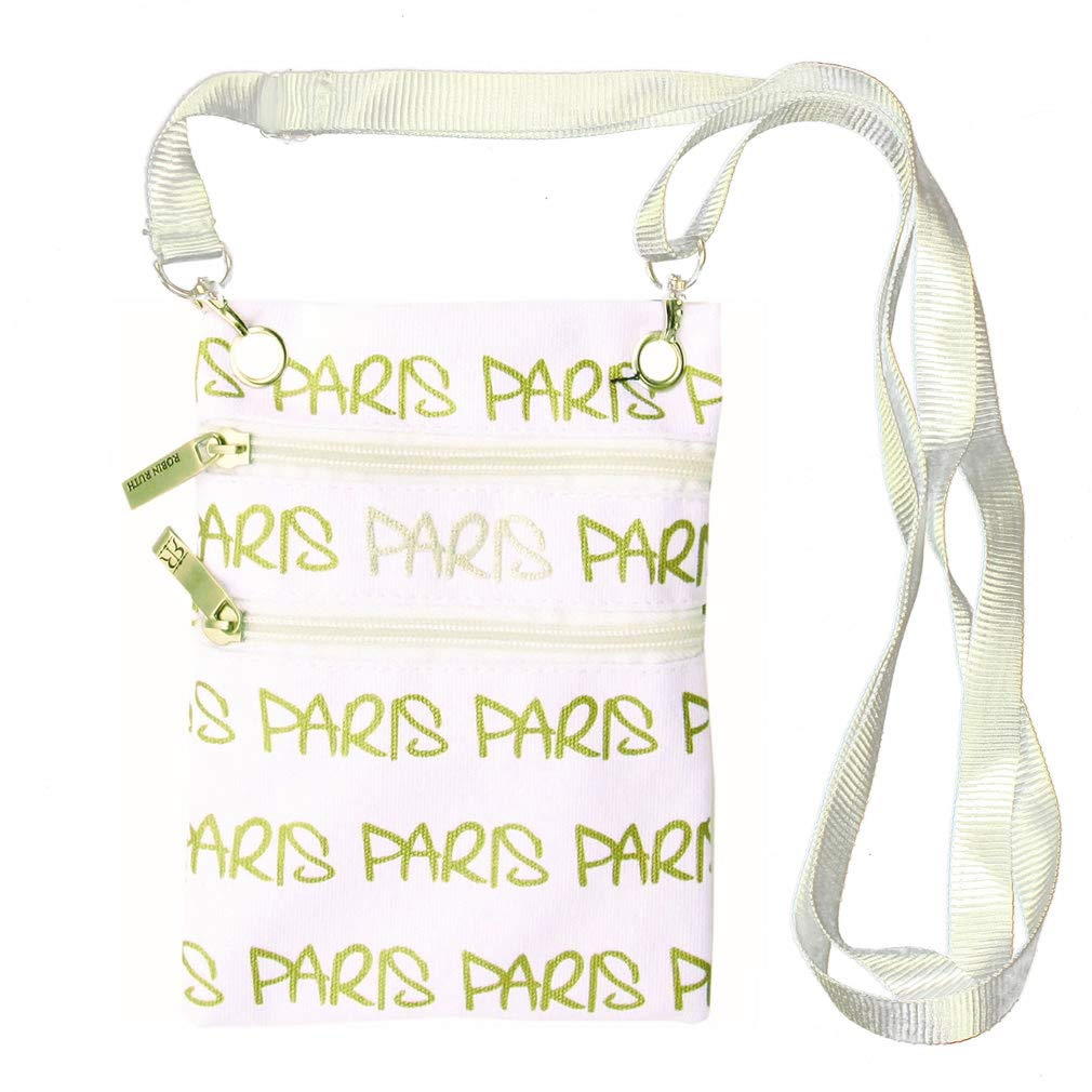 Pochette Passeport Paris Robin Ruth - Blanc Robin Ruth Sacs et Accessoires clutch-bag-paris-white