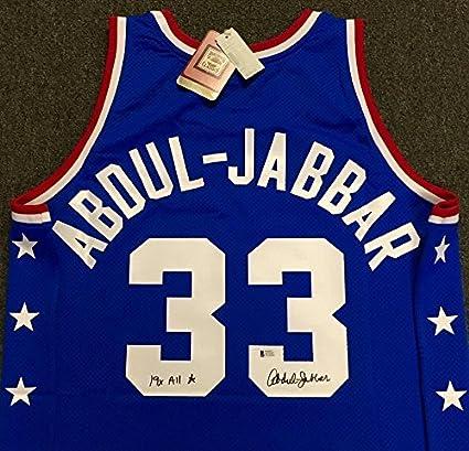 new styles e1bc2 0042f KAREEM ABDUL-JABBAR Signed