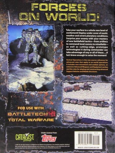 Battletech Tactical Operations (Classic Battletech)