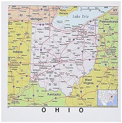 Amazon.com : tecmac Set of 12 Greeting Cards, Print of Ohio ...