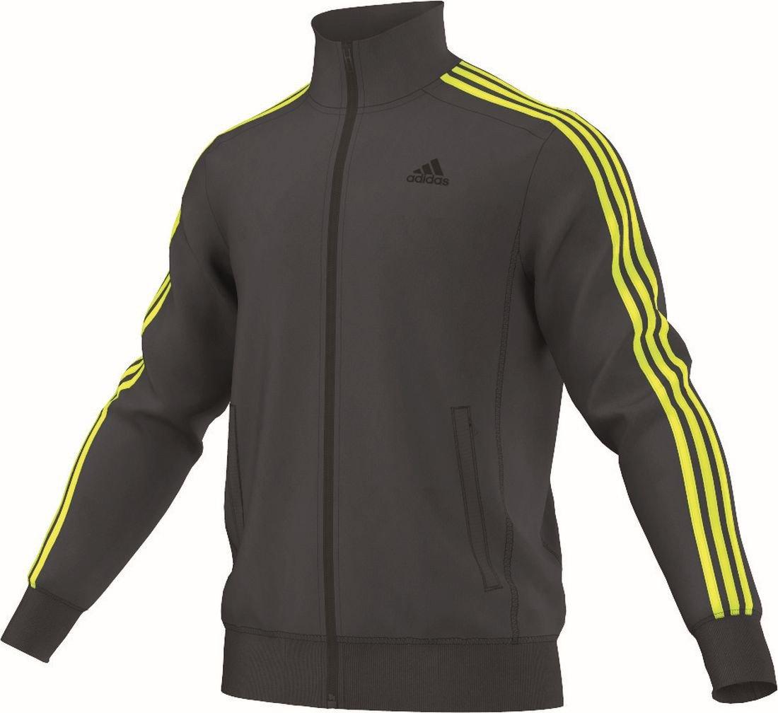 adidas Herren Essentials 3 Streifen Trainingsjacke