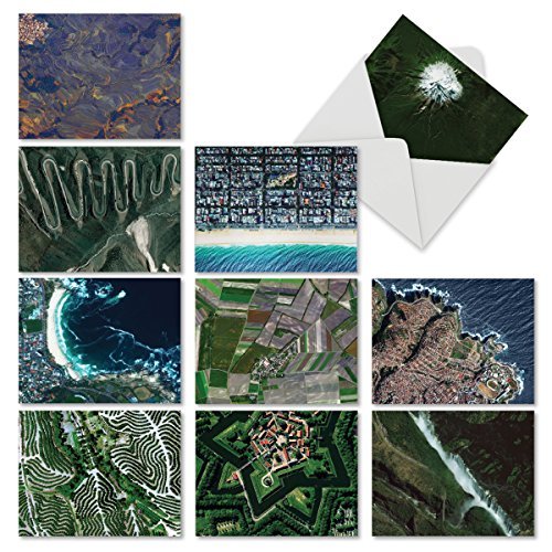 10 'Earthscapes' Note Cards with Envelopes (Mini 4