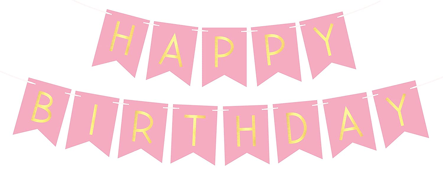 Image result for happy birthday pink