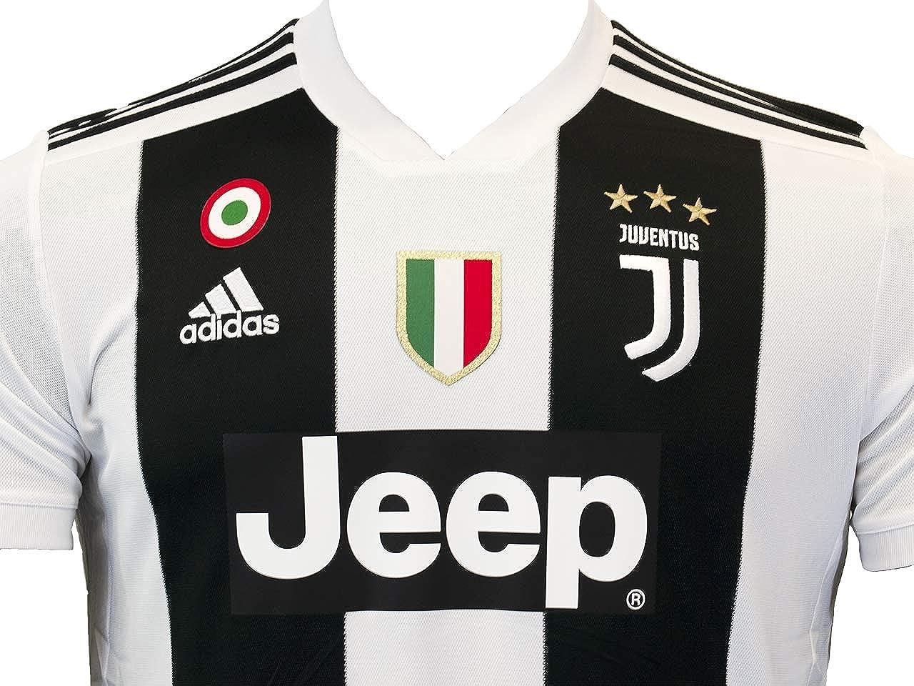 adidas Juve H JSY, Camiseta Gara Home 2018/2019 Cristiano Ronaldo, Hombre, Hombre, CF3489-CR7: Amazon.es: Ropa y accesorios