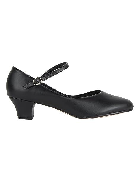 So Danca Ch50, Zapatos de Tap para Mujer, Negro (Black), 44 EU