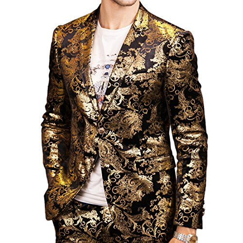 [해외]모카 먼 남성 싱글 브레스트 2 버튼 스포츠 코트 / MOKEWEN Men`s Single Breasted 2 Button Sport Coat